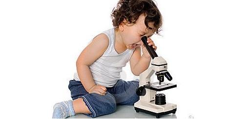 Microscopio para niños y niñas de 5 a 8 anos
