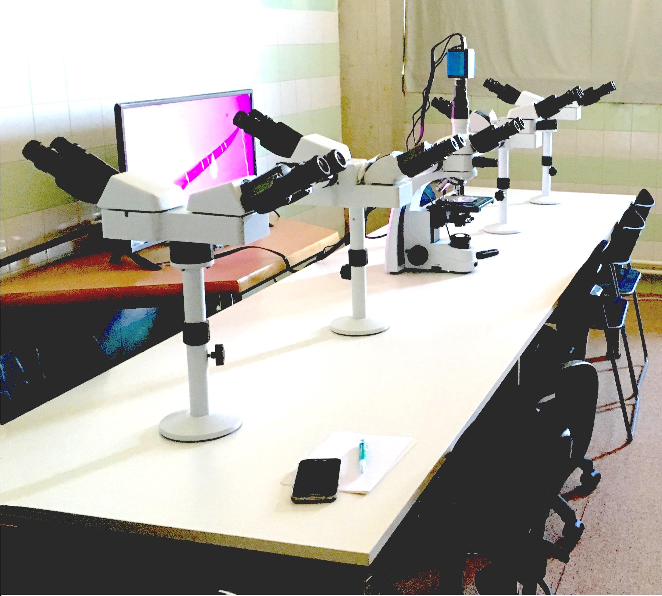 microscopio coobservador para la universidad autónoma de barcelona