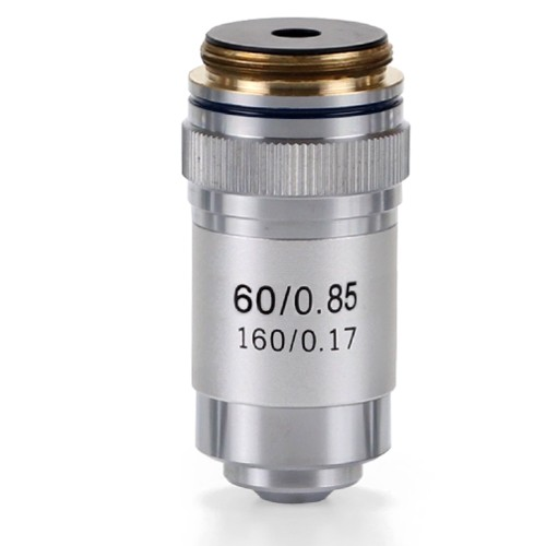 Objetivo DIN 45 mm. acromático S60x/0.85