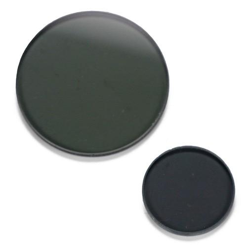Kit sencillo de polarización. El filtro polarizador de 18 mm. se monta en el ocular y el analizador de 32 mm. se coloca en el anillo porta-filtros del condensador