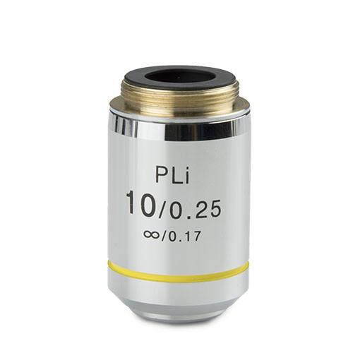 objetivo plano  iOS 10x/.025 microscopio