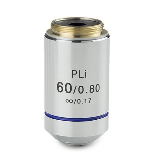 objetivo  plano iOS 60x microscopio