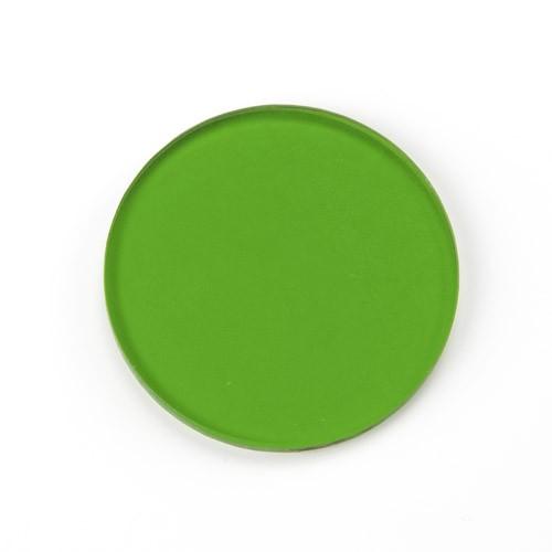 filtro verde para microscopio de diámetro 32 mm