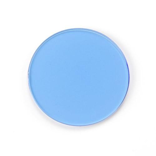 filtro azul microscopio de diámetro 32 mm